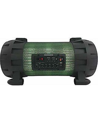 Edison Professional - Bazooka Style Lighted Barrel Bluetooth Speaker (BL3000)