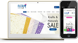 Flora Pack Phone and Desktop Wix eknlink
