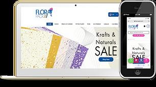 Flora Pack Phone and Desktop Wix eknlink