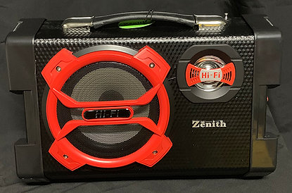 Portable PA Hi-FI Speaker System by Zenith Z2019