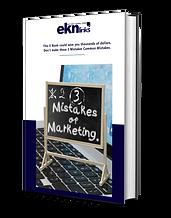 3 Mistakes Of Marketing by Prof. Ken Nin