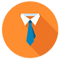 You Own Site Tie Collar Professional Ico