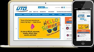 UTD Phone and Desktop Wix eknlinks.com.p