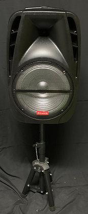 Portable PA Speaker Hi Power System by Zenith ZR-12GX