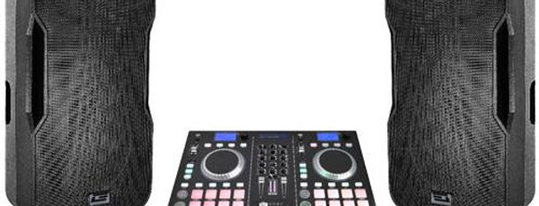 2,400 Watts PMPO Professional Mobile DJ System