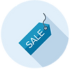 eknlinks.com Social Media Plans only $99 Sale Tag Icon Dollar Icon.png