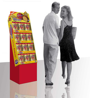 Whisper display for retail