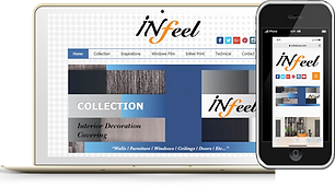 Infeel Phone and Desktop Wix eknlinks.co