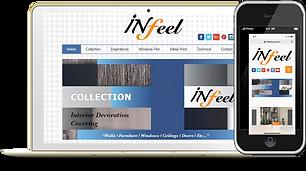 Infeel Phone and Desktop Wix eknlinks.co