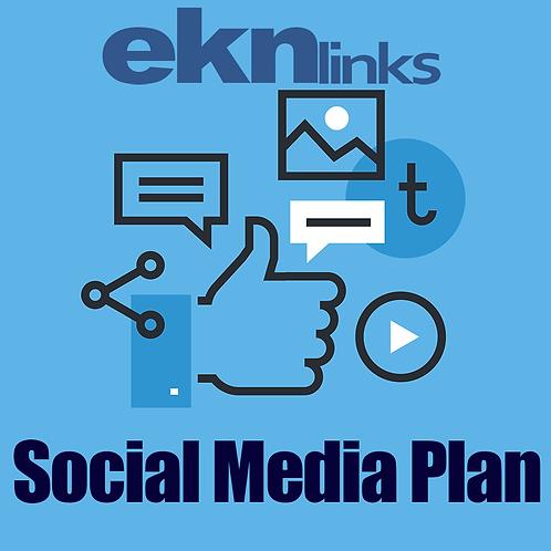 Social Media Plan - Manager