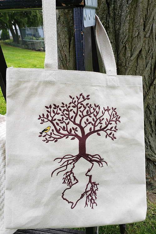Jersey Roots Totebag