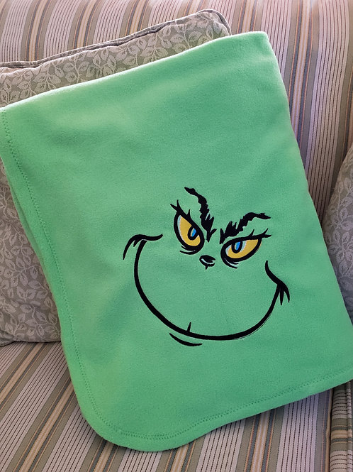 Mean Green Blanket