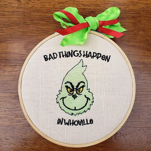 Debate-able Bad Things Ornament
