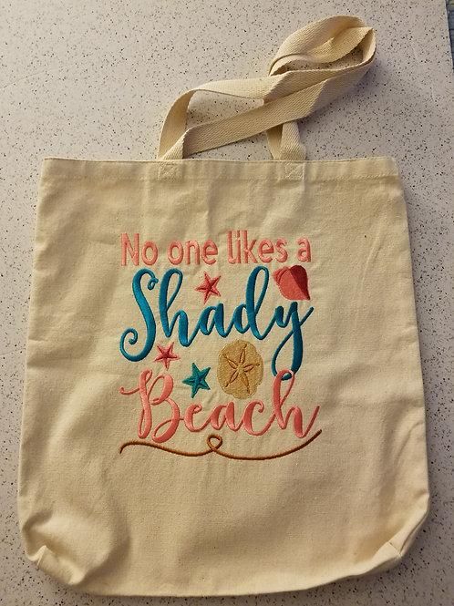 Shady Beach totebag
