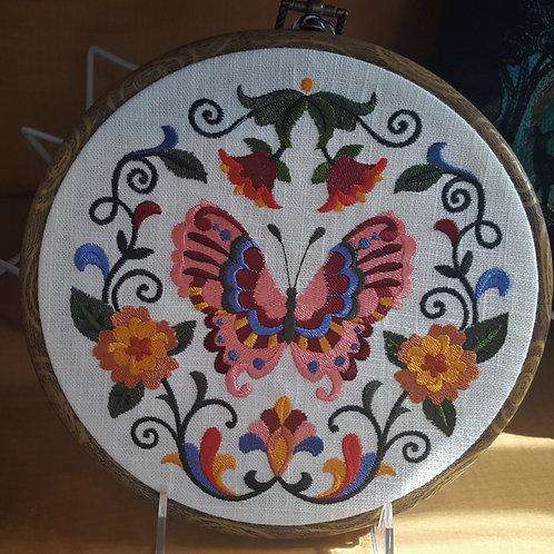 Sweet Butterfly Hoop