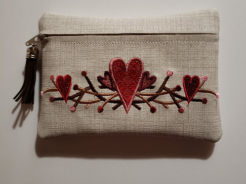Country Hearts Pouch