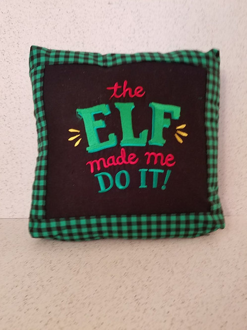 Christmas Spirit Role Model Pillow