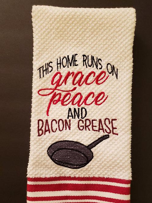 Bacon Grease Towel