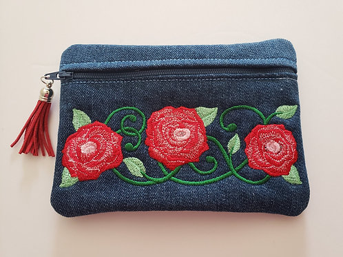 Country Rose Pouch