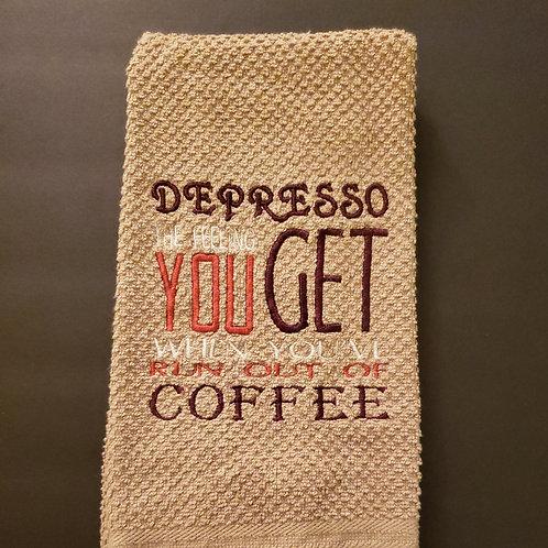Depresso Towel