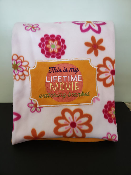A lifetime of movies Blanket