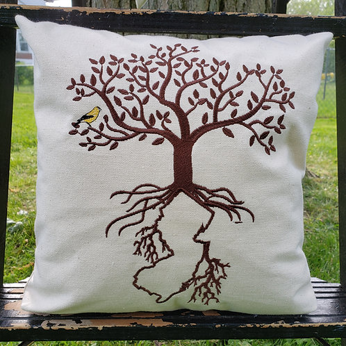 Jersey Roots Pillow