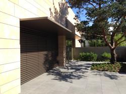 Eingangsfront und Vordach