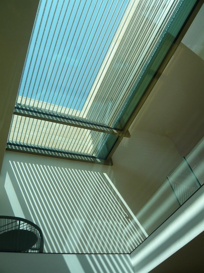 Glasboden + Dachverglasung