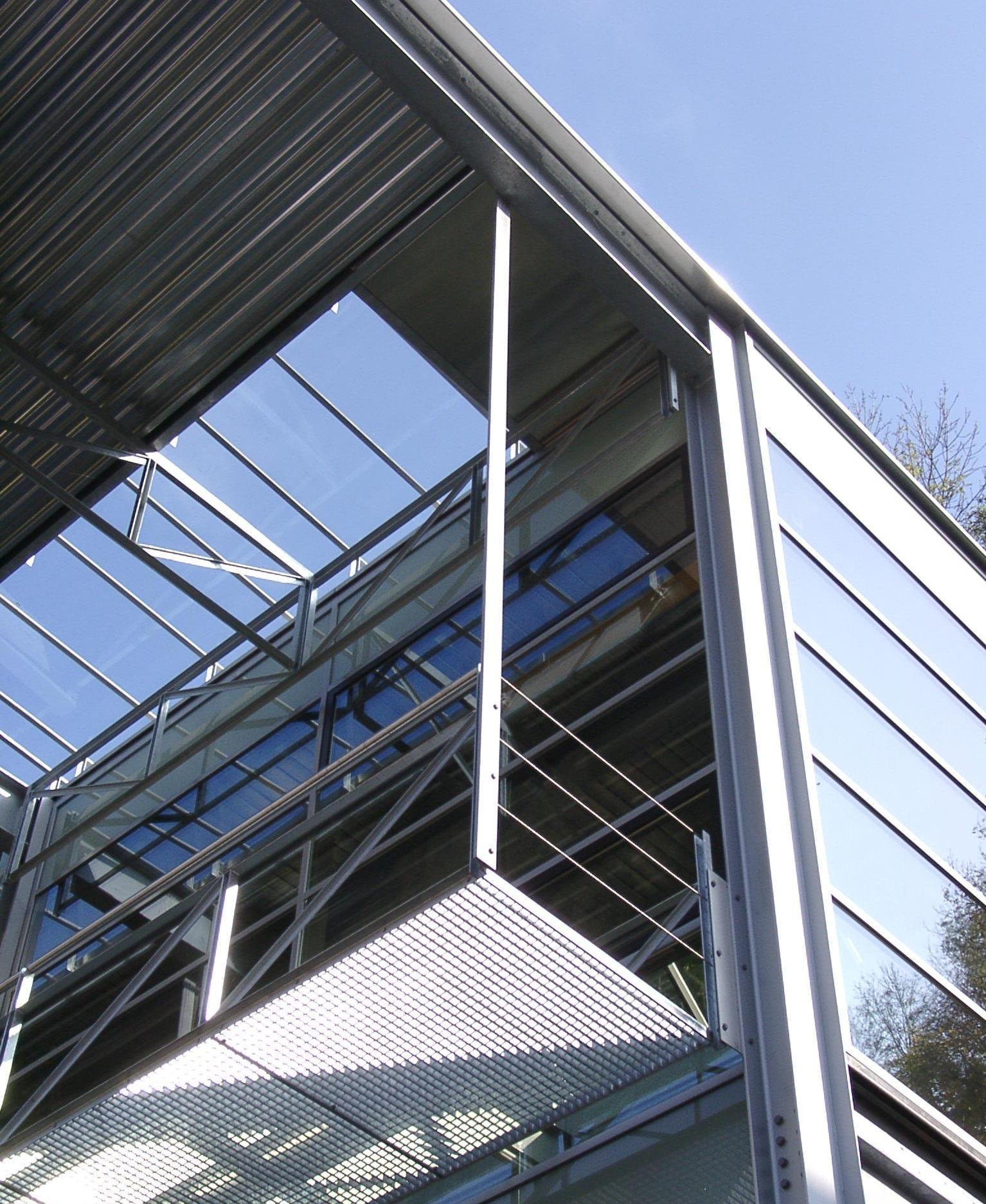 Fassadensteg