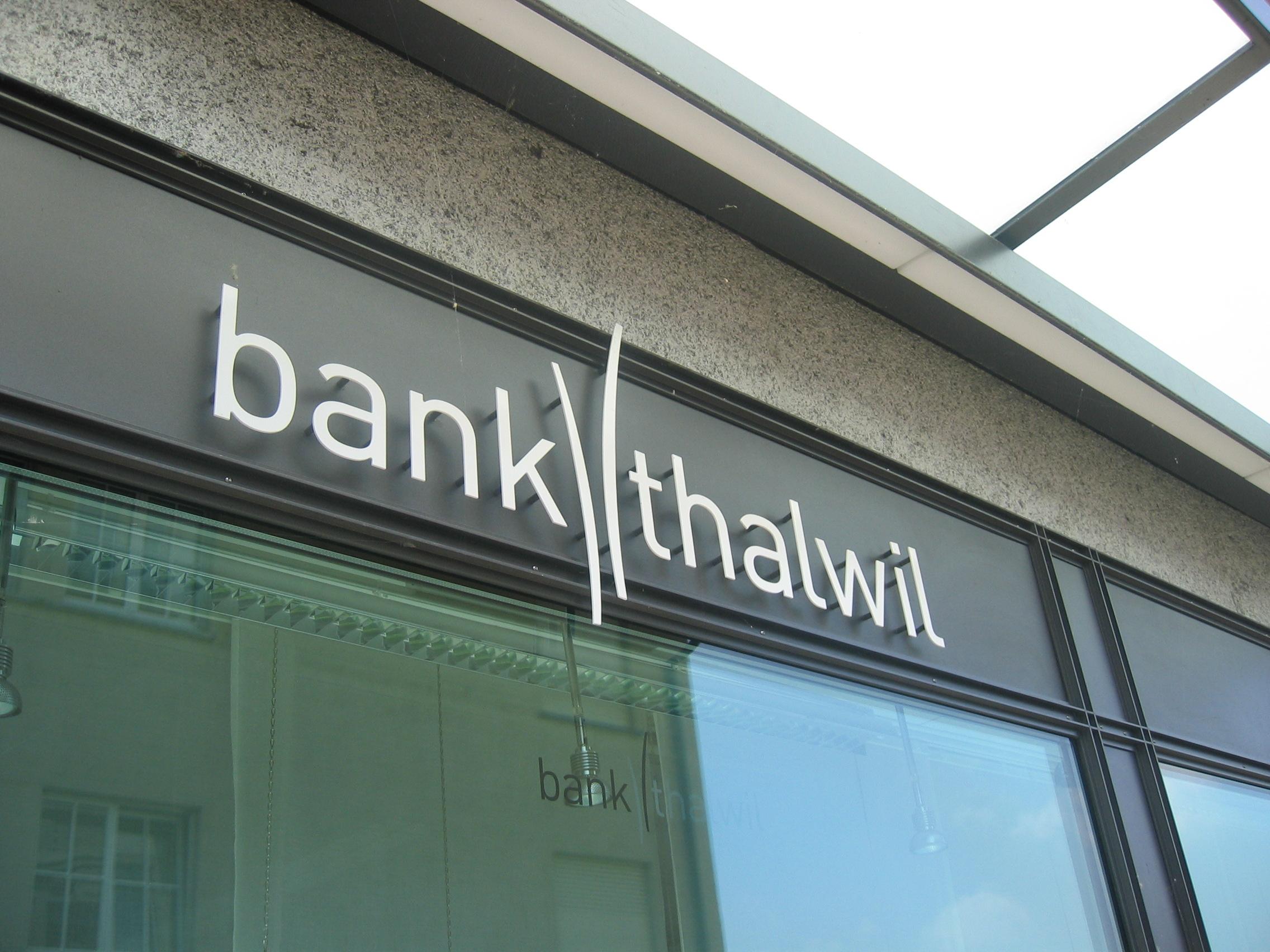 Umbau Bank Thalwil