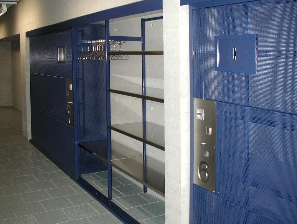 Garderoben-Wandschränke