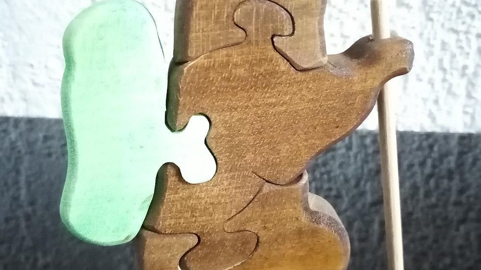 """Puzzle 3D """"Marmotte"""""""