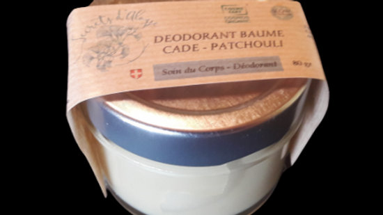Déodorant Baume - Patchouli-Cade - 80g