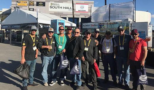 Atkinson Concrete Crew at the World of Cocre Show i Las Vegas 2018