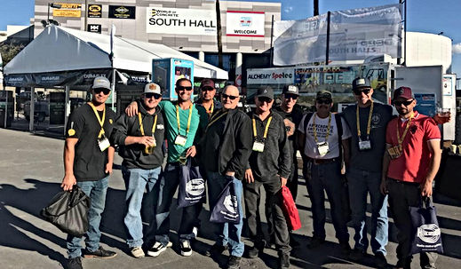 Atkinson Concrete Crew at the World of Cocre Show i Las Vegas 2018