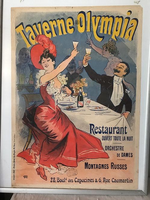 Affiche originale de 1899 Jules Cheret 124x87 cm