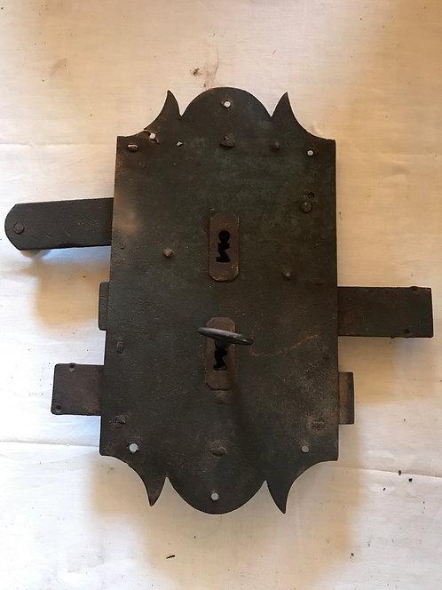 Serrure géante de Château 33x17
