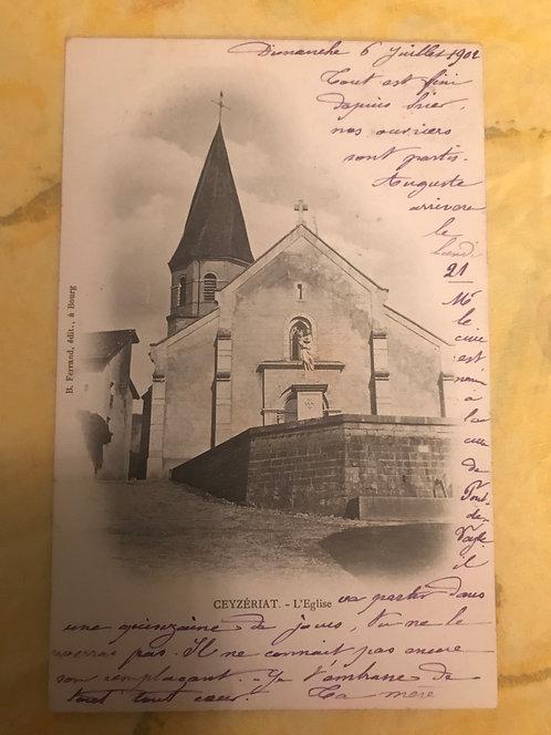Cezeriat l'église
