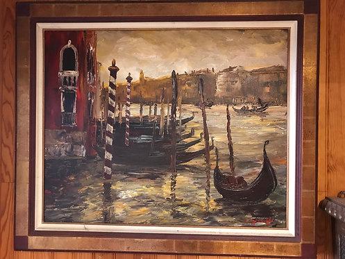 Tableau de Véronique Ziminski 85 x 68 cm