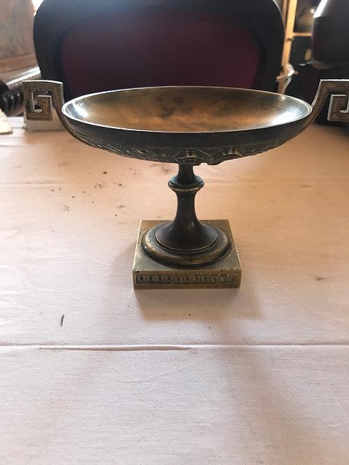 Vide poche Napoléon lll bronze diamètre 16 cm h 14 cm ref 1590