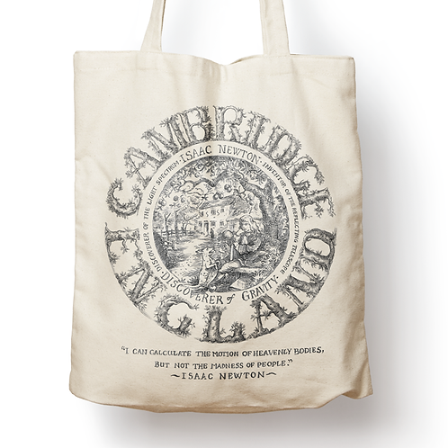 Isaac Newton Canvas Tote Bag
