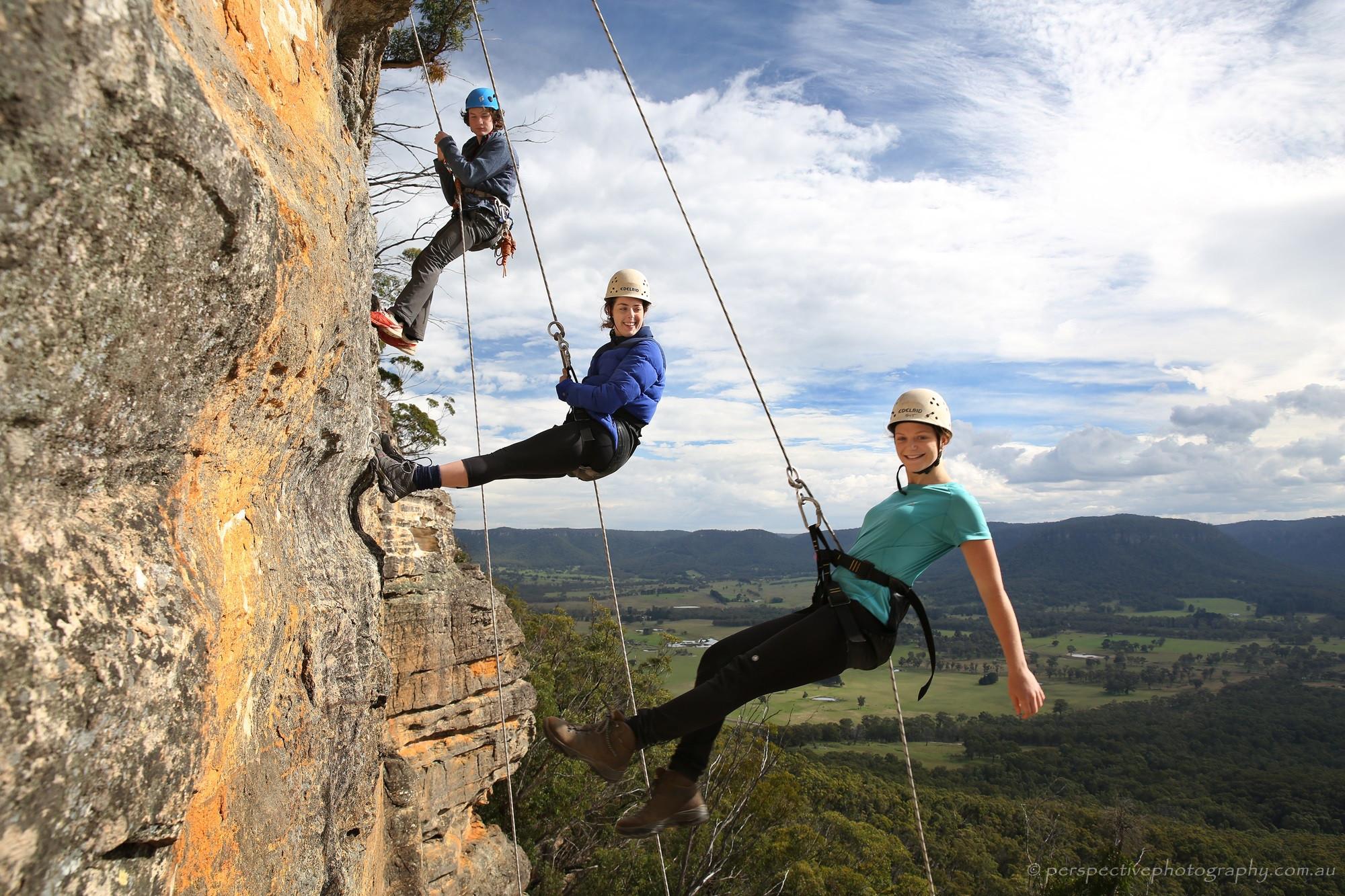 MIA Day Tour - Mount York Abseiling