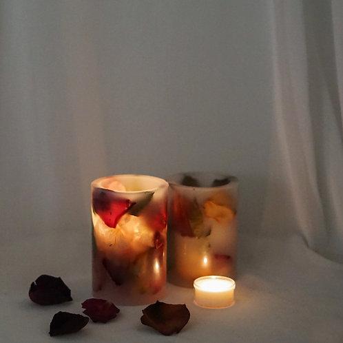 Rose Tealight Candle Holder