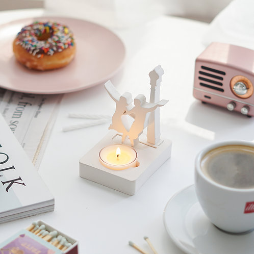 Dancing in the Moonlight Tealight Candle Holder