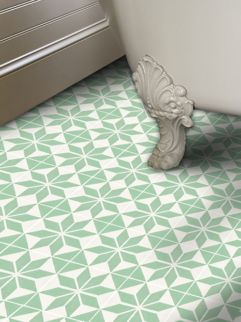 Vinyl Floor Tile columbia court white taupe vinyl tile 21640 Quadrostyle Offers You A New Way To Renovate Your Floors Without Hiring A Tradesman Our Vinyl Floor Tile Stickers Are Designed To Cover Your Old Floor