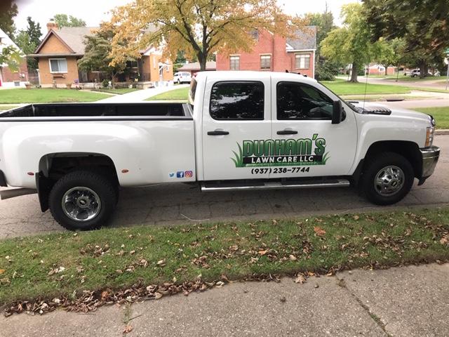 Dunham's Lawn Care Truck