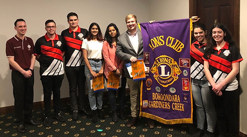 LEO Club Members of Boroondara & Warrand