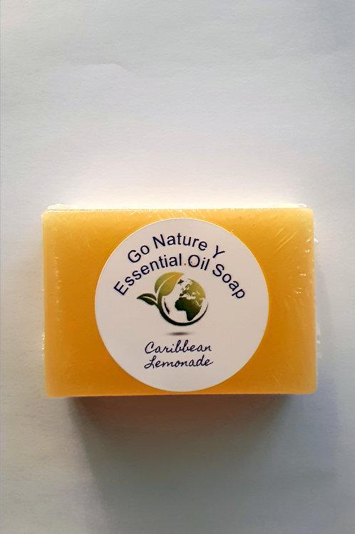 Rectangular Lemon soap clear base