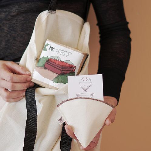 Combo • Microlote + Filtro + Eco Bag