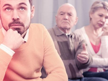 Como aceitar os pais?